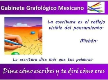 Gabinete Grafologíco Mexicano