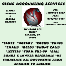 Cisne Accounting Services