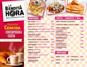 La Bendita Hora Restaurante Café