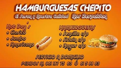 Hamburguesas Chepito