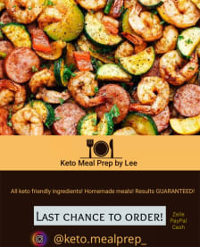 Keto Meal Prep And Catering By Lee