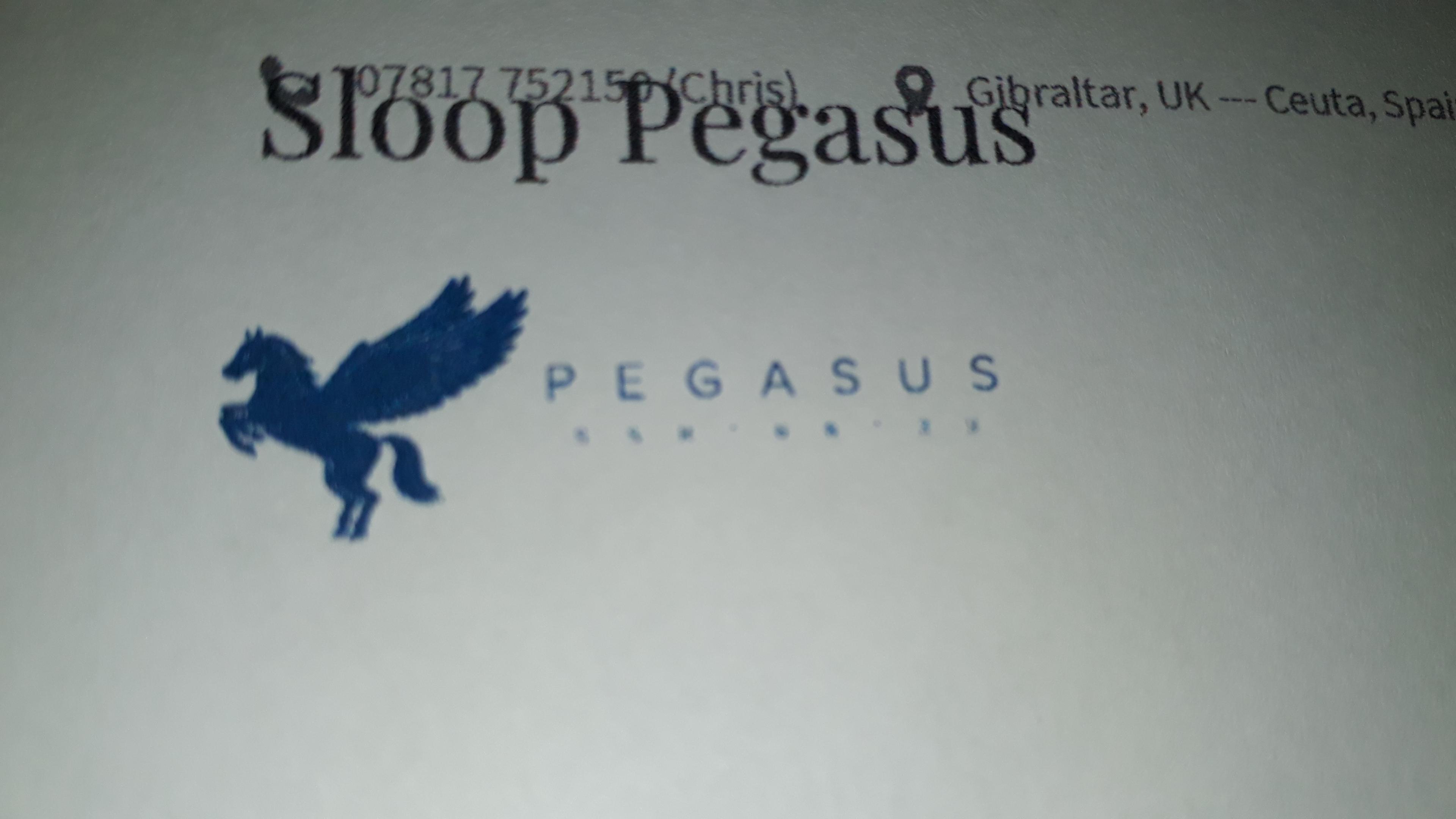 Sloop Pegasus