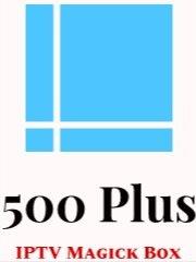 500 Plus IPTV & Unlimited Internet