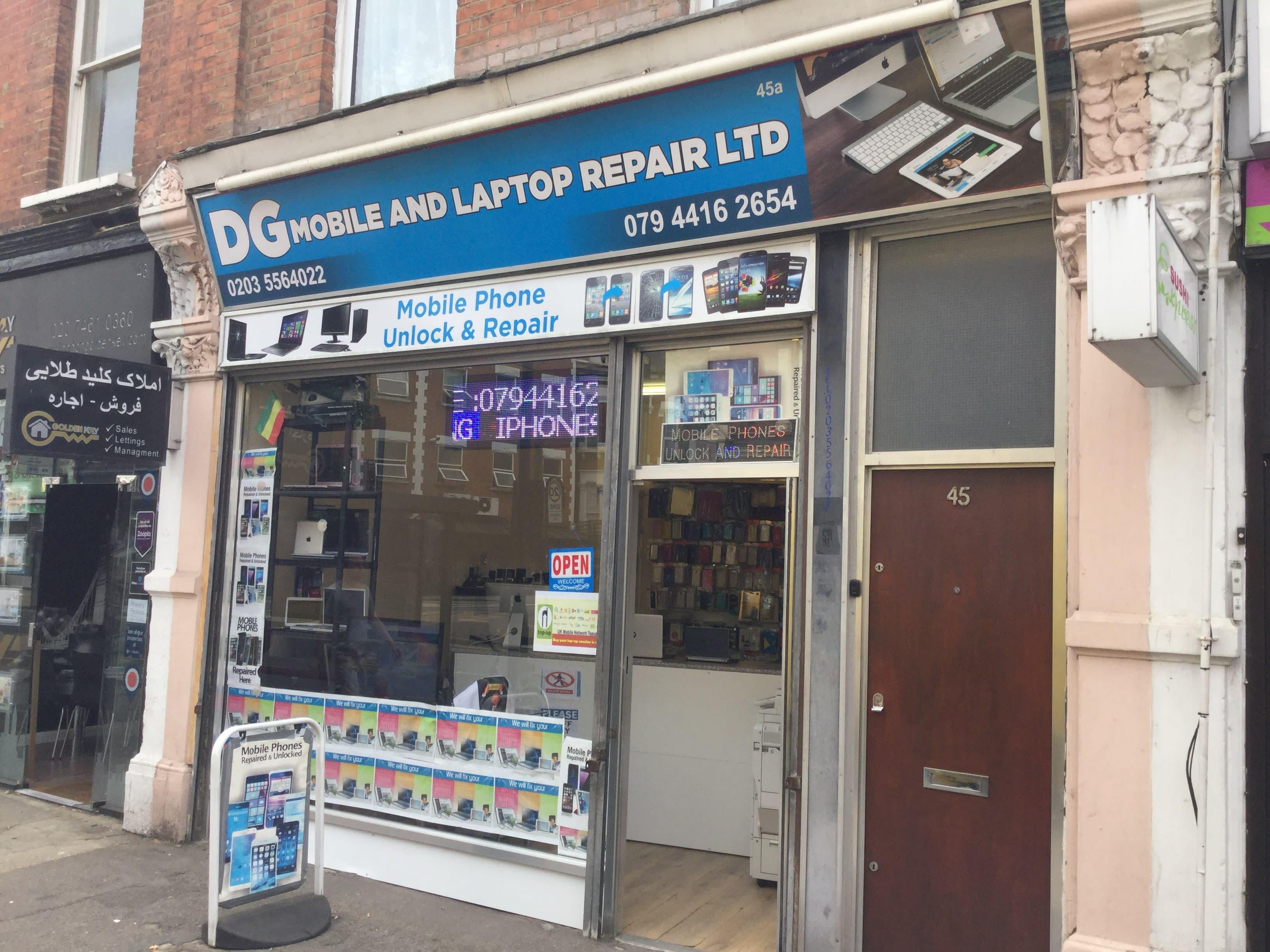 DG Mobile And Laptop Repair Ltd