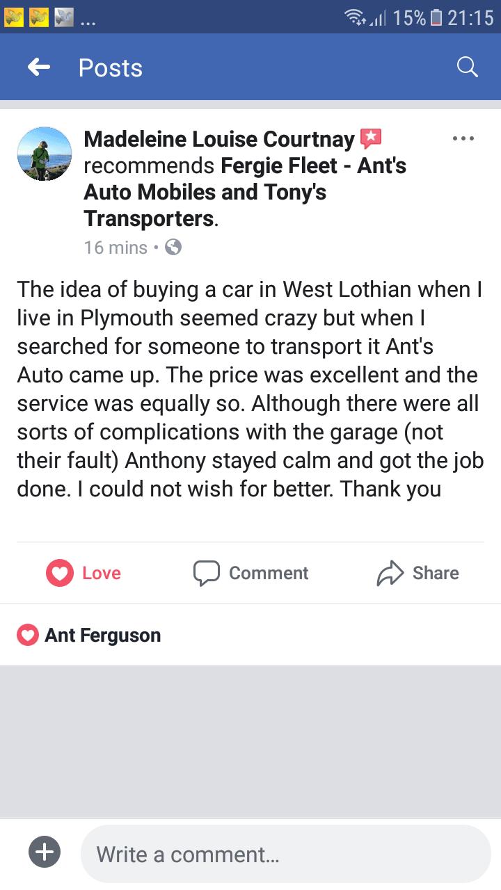 Ant's Auto Mobiles