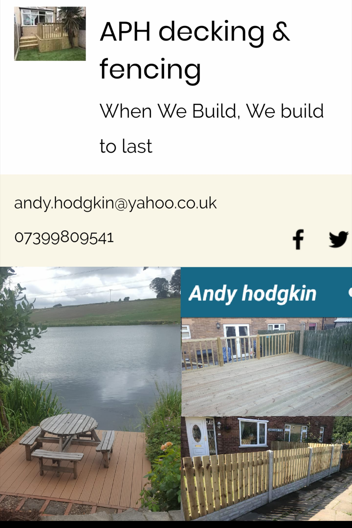APH Decking & Fencing Service