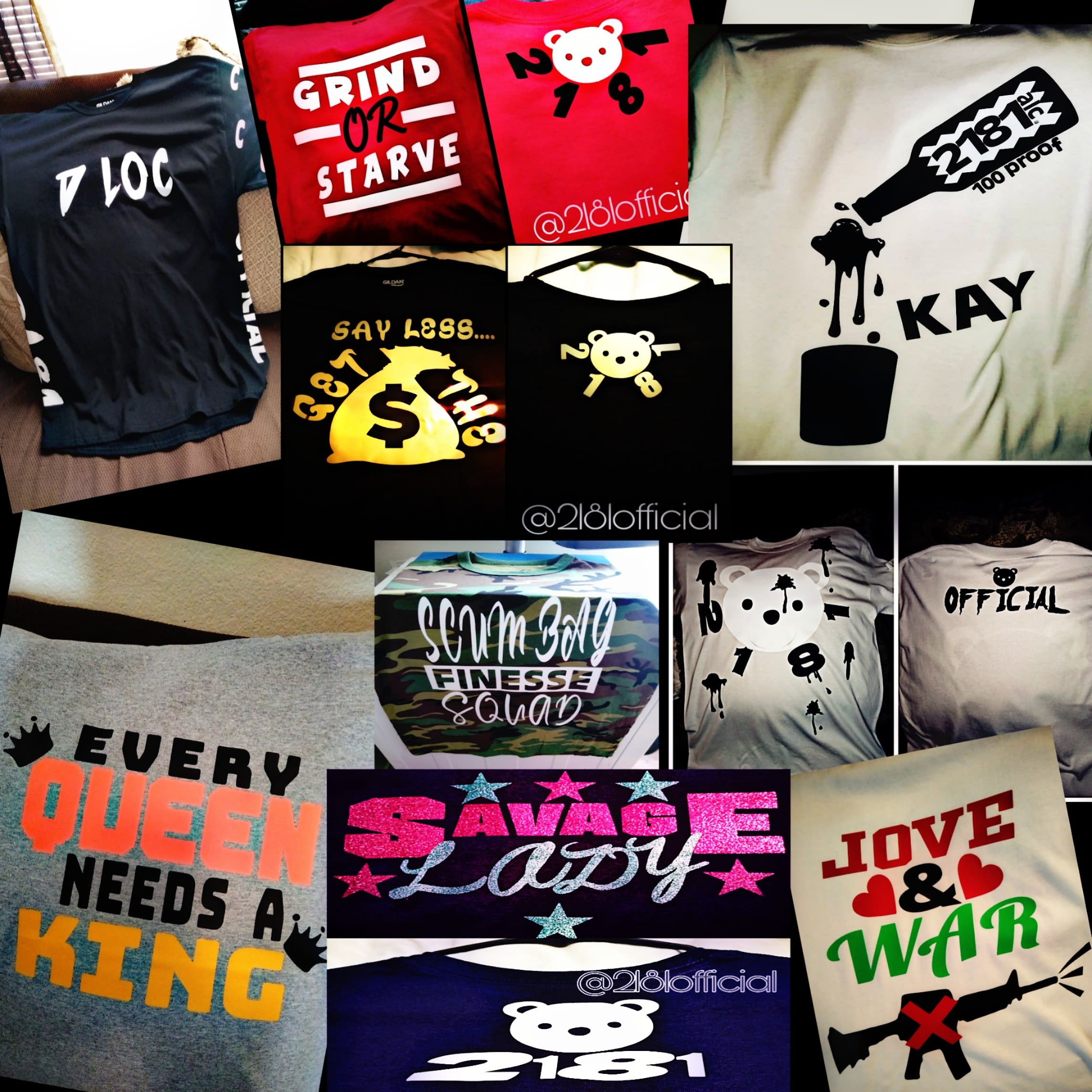 2181 Official Clothing
