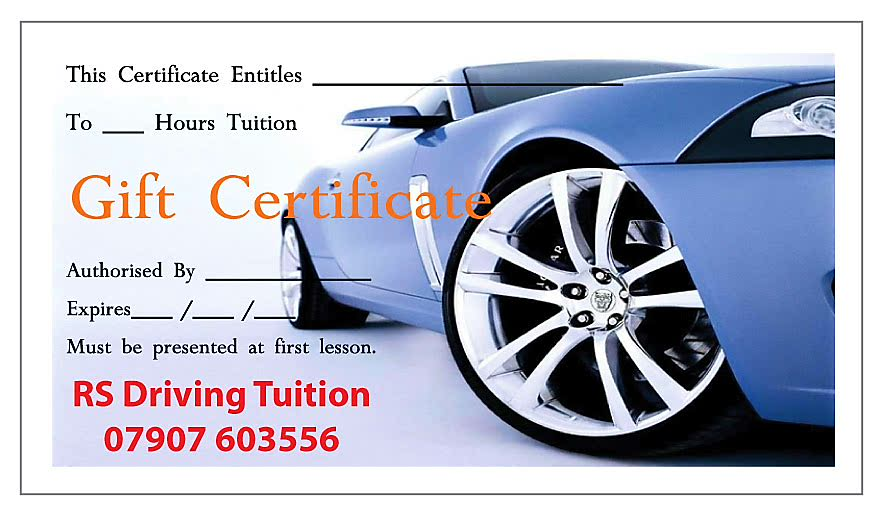 RS Driving Tuition